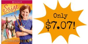American Girl: Saige Paints the Sky DVD Only $7.07!