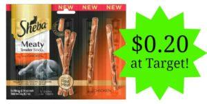 Target: Sheba Cat Treats Only $0.20!