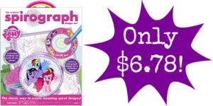 Spirograph Tin & Pad My Little Pony Playset Only $6.78!