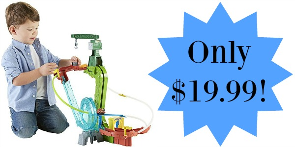 Thomas the Train MINIS Motorized Raceway Only $19.99 (Reg ...
