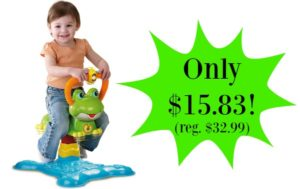 VTech Count and Colors Bouncing Frog Toy – $15.83!! (reg. $32.99)