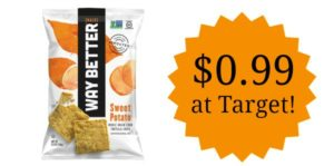 Target: Way Better Potato Chips Only $0.99!