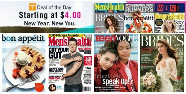 Select Magazine Subscriptions Only $4 00!! Today Only