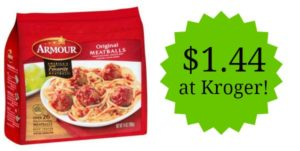 Kroger: Armour Meatballs Only $0.25!