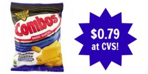 CVS: Combos Baked Snacks Only $0.79!