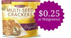 Walgreens: Crunchmaster Crackers Only $0.25!