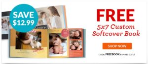 FREE Custom 5×7 Soft Cover Photo Book! ($3.99 Shipping)