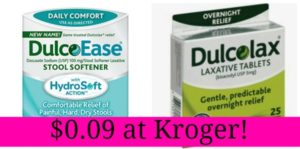 Kroger: Dulcolax Products Only $0.09!