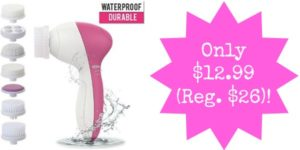 Facial Cleansing Brush and Massager Only $12.99 (Reg. $26)!