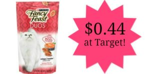 Target: Purina Fancy Feast Treat Duos Only $0.44!