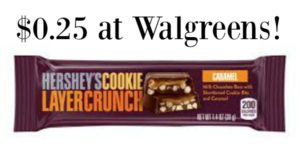 Walgreens: Hershey's Cookie Layer Crunch Bars Only $0.25!