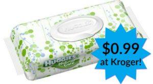 Kroger: Huggies Wipes Only $0.99!