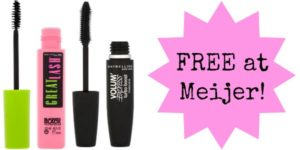 FREE Maybelline Mascara at Meijer!