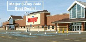 Meijer 3-Day Sale Best Deals – November 16 – 18