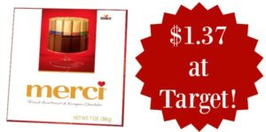 Target: Merci Chocolates Only $1.37!