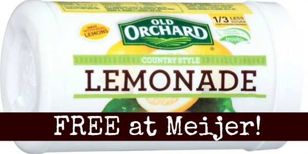 FREE Old Orchard frozen juice