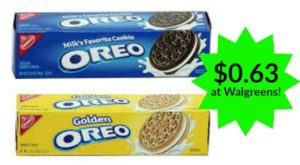 Walgreens: Nabisco Cookies or Crackers Only $0.63!