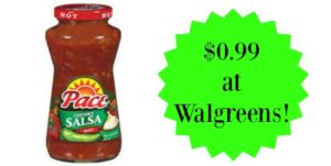 Walgreens: Pace Salsa Only $0.99!