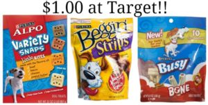 Target: Purina Dog Treats Only $1.00!