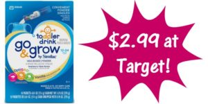 Target: Similac Go & Grow Mix-Ins Only $2.99!