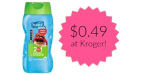 Kroger: Suave Kids Shampoo Only $0.49!