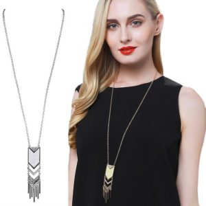 Bohemian Tassel Pendant Necklace Only $3.97 Shipped!