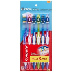 Colgate Extra Clean Toothbrush 6 Count as low as $3.37 Shipped! ($0.56 each)