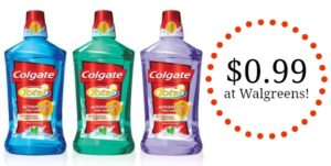 CVS: Colgate Mouthwash Only $0.99!