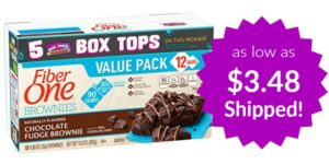 Fiber One 90 Calorie Soft-Baked Bars 12 Count as low as $3.48 Shipped!