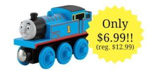 Fisher-Price Thomas the Train Wooden Railway Thomas – $6.99!! (reg. $12.99)