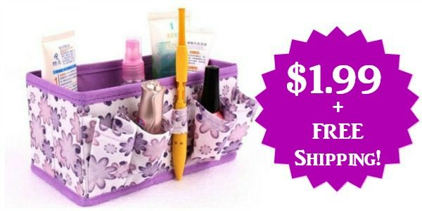 Foldable Makeup Organizer