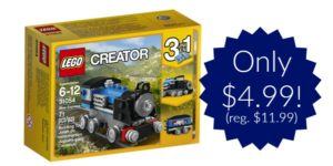 LEGO Creator Blue Express Building Kit Only $4.99!