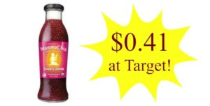 Target: Mamma Chia Beverage Only $0.41!
