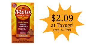 Target: Metamucil Fiber Wafers Only $2.09! (reg. $7.59)