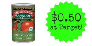Target: Muir Glen Diced Tomatoes Only $0.50!