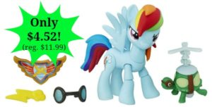 My Little Pony Guardians of Harmony Rainbow Dash Figure – $4.52! (reg. $11.99)