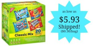 Nabisco Classic Cookie and Cracker Mix 20-Count as low as $5.93 Shipped!