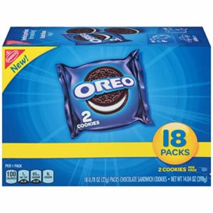 Oreo Chocolate Sandwich Cookies 2-Cookie Pack 18-Count Only $3.45! ($0.22 each)
