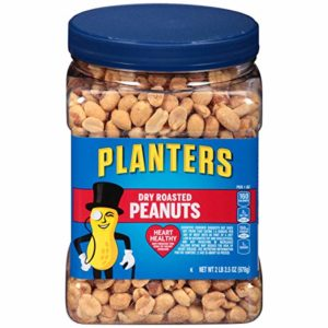 Planters Dry Roasted Peanuts 34.5oz Only $4.81!