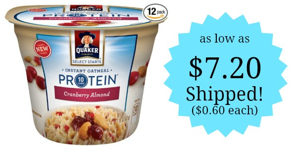 Instant Oatmeal Costco : Quaker instant oatmeal express cups count as low