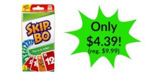 Skip Bo Card Game Only $4.39!! (reg. $9.99)