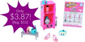 Shopkins Fashion Gym Fashion Collection Only $3.87 (Reg $15)!