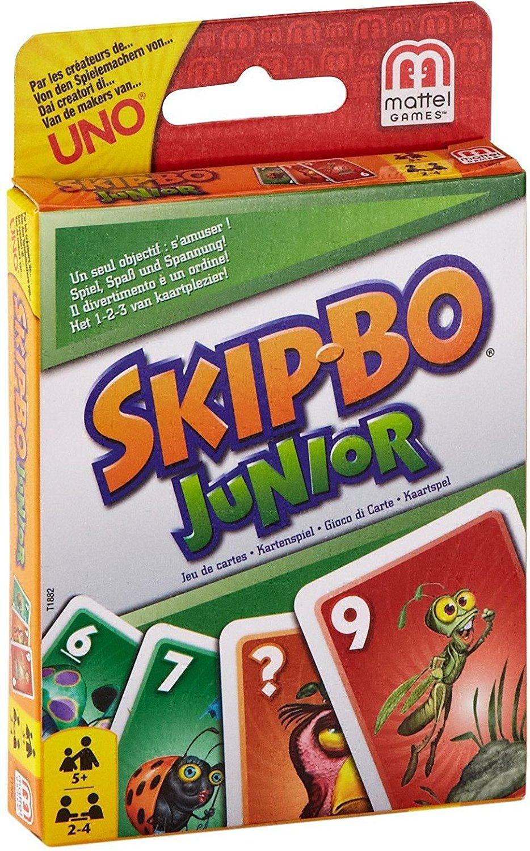 Spielanleitung Skip Bo Junior
