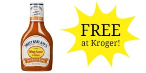 FREE Sweet Baby Ray's Wing Sauce at Kroger!