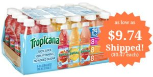 Tropicana Variety Pack, 24-count as low as $9.74 Shipped! ($0.41 each)
