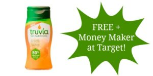 FREE Truvia Nectar 3.5 ounce + Money Maker at Target!