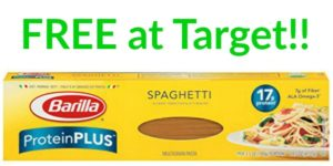 FREE Barilla ProteinPlus Spaghetti at Target!