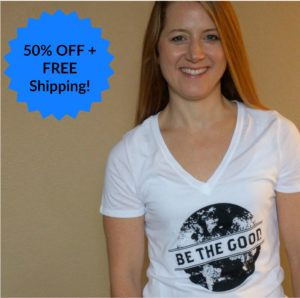 Inspirational Tees – 50% OFF + FREE Shipping!