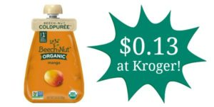 Kroger: Beech-Nut Organic ColdPuree Pouches Only $0.13!