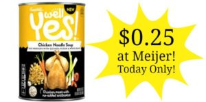 Meijer: Campbell's Well Yes! Soup Only $0.25!